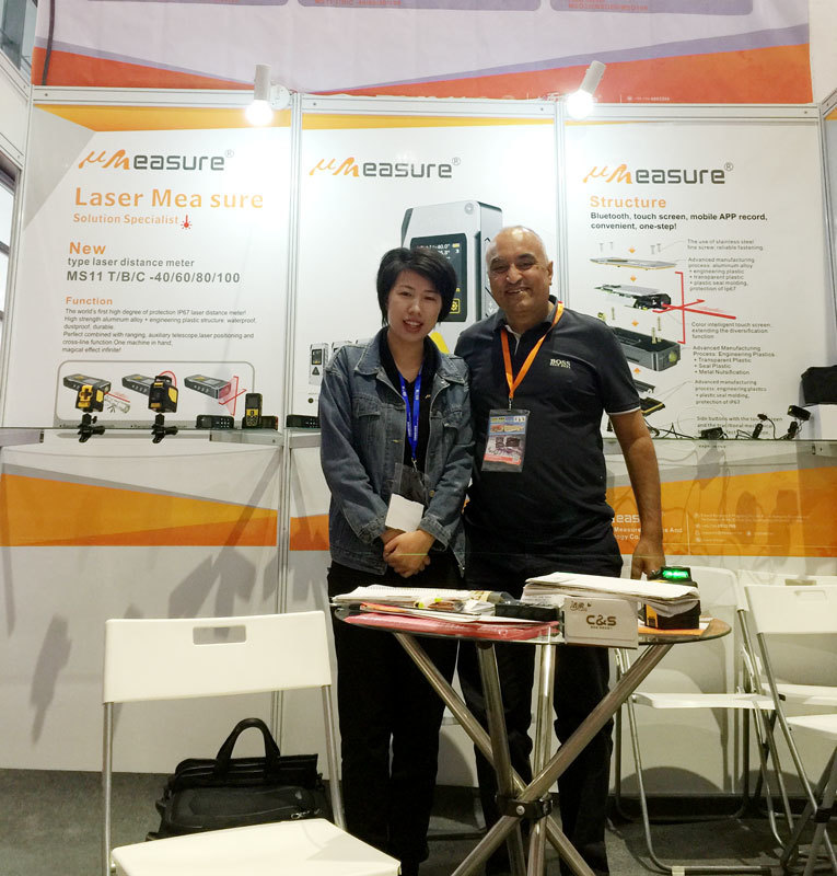 We showed our new product MS11 with IP67 protection grade in YIWU  Internationale Hardware show