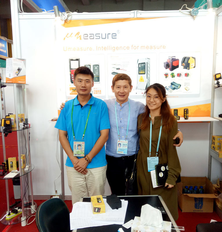 Different range of  laser distance  measure be showed on Canton Fair