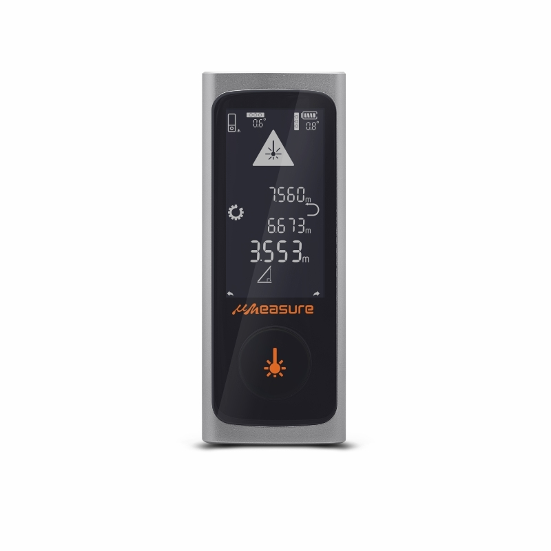 High precision mini Bluetooth touch screen laser measuring tools distance meter rangefinder