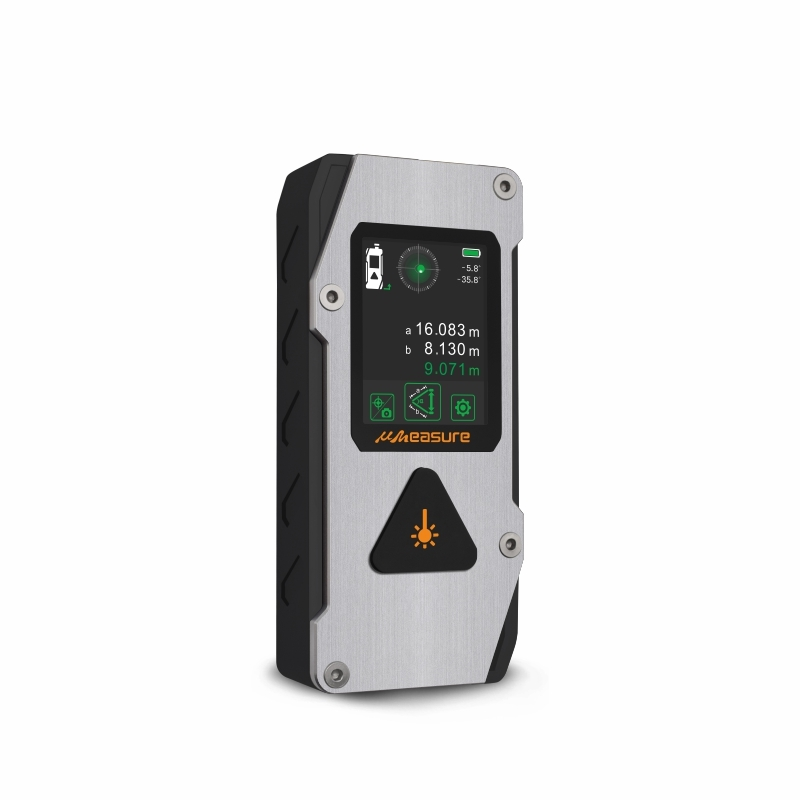 New multi-function laser distance meter measure angle laser level combined with far focal length image assist