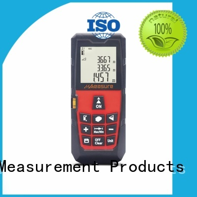 radian Custom device display laser distance measurer UMeasure backlit