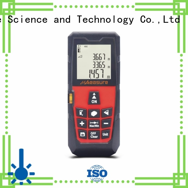 Custom image precision laser distance measurer UMeasure electronic