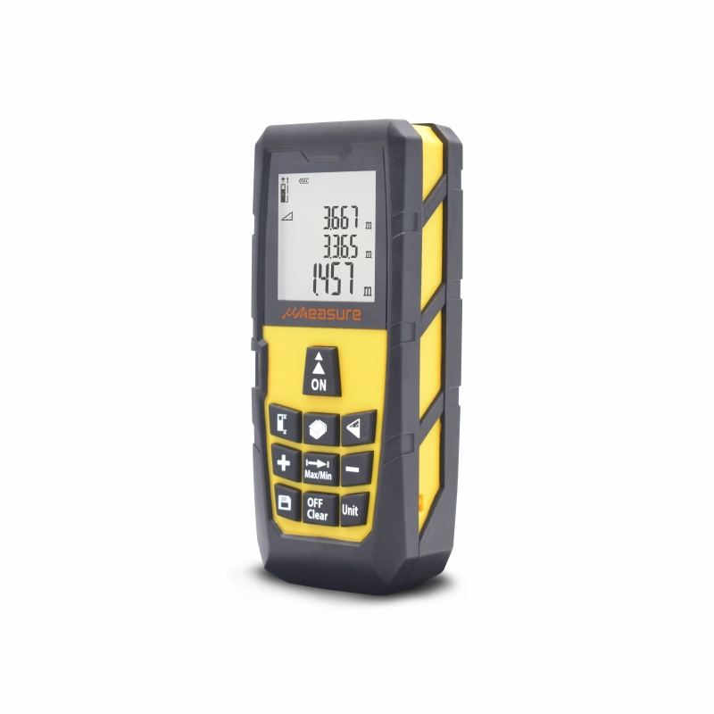 Laser distance measure 131ft 40M for measurement accuracy ±1/16 inch