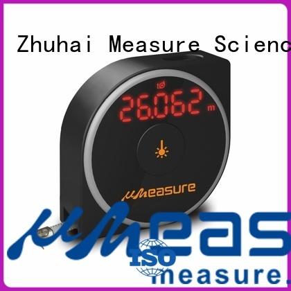 UMeasure Brand button precision wheel laser range meter digital