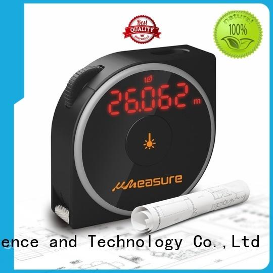 angle handheld curve laser distance measurer UMeasure